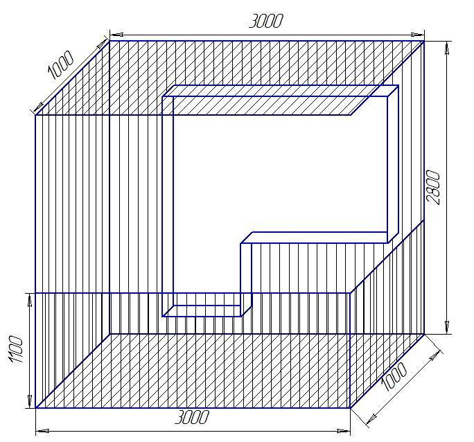 Размер балкона в панельном доме.